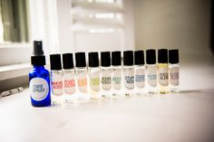 Essential Oil Medicine Cabinet Makeover - This blog makes using your essential oils super easy! Roller bottle recipes and super cute labels!