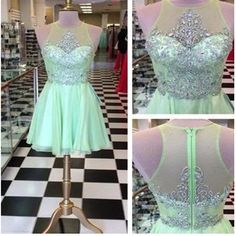 b5e9be31340 Short sparkly mini off shoulder for teens casual homecoming prom dress –  NewestDress Green Homecoming Dresses