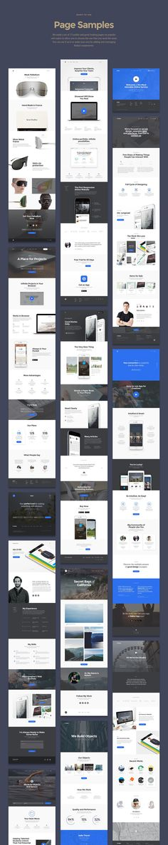 Baikal Startup UI Kit / Free Sample Inside on Behance