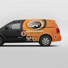 Vehicle Graphic Design for C/V Tradesman Vans