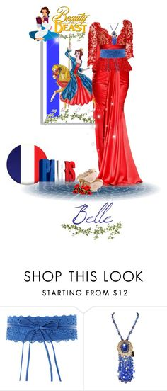 """A Disney Girl for Every Nation #belle #france (#645)"" by nobility99 ❤ liked on Polyvore featuring Zuhair Murad and ZiGi Black Label"