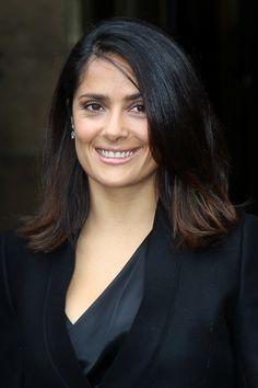 Salma Hayek rocks the shoulder-length locks
