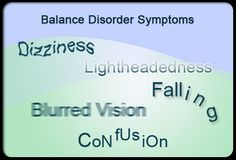 What Are the Symptoms of a Balance Disorder?  Some of the common symptoms of a balance disorder include:      Dizziness or vertigo     Falling or a feeling as if you are going to fall     Lightheadedness, fainting, or a floating sensation