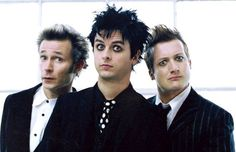 Green Day- rockin' the guy-liner...