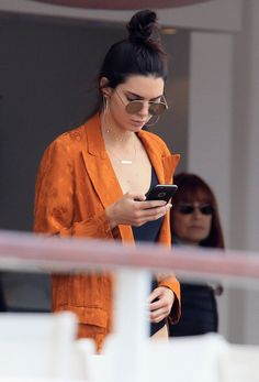 Kendall off-duty style