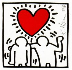 7t keith haring