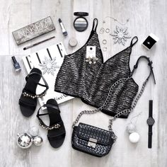 Holiday season. Party time flat lay! <3 @coolflatlays