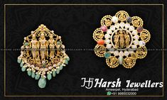 Gold Pendant, Pendant Jewelry, Gold Jewelry, Beaded Jewelry, Beaded Necklace, Latest Jewellery, Jewellery Designs, Necklace Designs, Gold Designs
