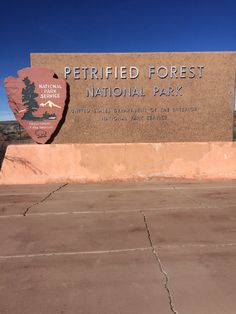 Arizona, Petrified Forest National Park is part of the Painted Desert. The Petrified viewing area is on both sides of Interstate Directions: West bound on Interst Petrified Forest National Park, National Forest, Arizona Road Trip, Best Campgrounds, National Parks, Photograph, America, Places, Outdoor