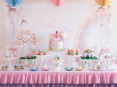 Pastel Rainbow Fairy Party