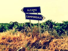 Camporeale - road to the Grillo vineyards