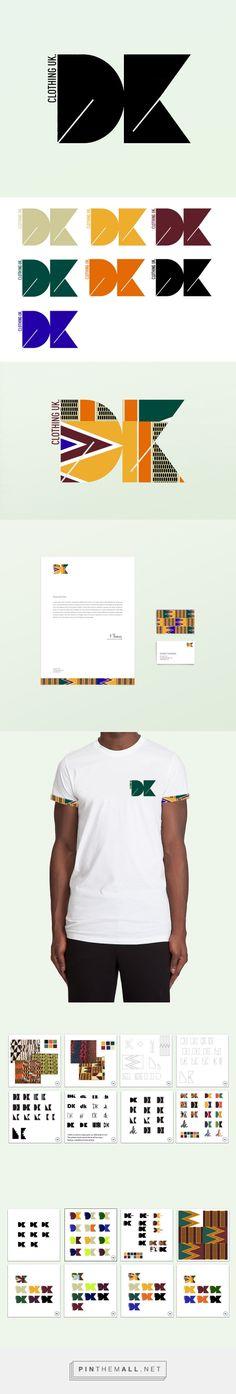 DK Clothing UK - Marssaié   African inspired print / logo design - created via https://pinthemall.net