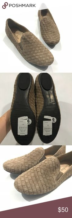 Neiman Marcus Brown Suede Woven Loafers Size 9 Store display. Still has tags attached on bottom. Smoke free home  Size 9 Neiman Marcus Shoes Flats & Loafers