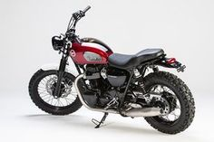 Kawasaki W800 with a scrambler feel and very nicely done by LSL