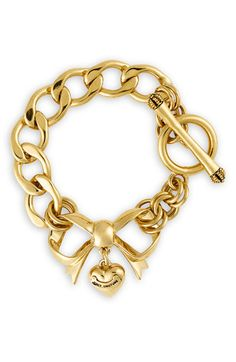 Juicy Couture Bow Starter Charm Bracelet   Nordstrom