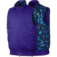 4016ae6dc44e NEW Men s Nike Air Jordan Fly Vest Reversible Jacket Camo Purple 4XL 682811-530