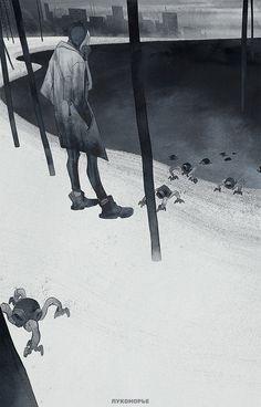 ArtStation - Lukomorie, Sasha Tudvaseva