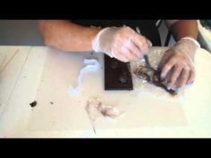 Learn how to create a mixed media plaque using Powertex Fabric Hardener - Powertex Australia - YouTube