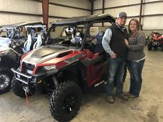 Congratulations to Jeremy King and Jessica Sanderford from Hernando, MS for purchasing a 2018 Polaris General 1000 Deluxe at Hattiesburg Cycles. #polaris