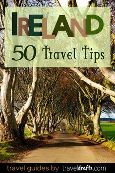 50 travel tips of Ireland : List of everything you need to know before traveling to Ireland. An Ireland travel guide with the tourist destinations and information, the food, transports, and prices! Ireland Travel Guide, Europe Travel Tips, European Travel, Travel Guides, Places To Travel, Travel Destinations, Ireland Hiking, Budget Travel, Best Of Ireland
