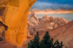 ~ Skyline Arch ~ Arches National Park, Utah....Don Paulson....