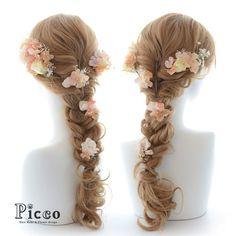 Gallery 104 New Arrival!!! Rapunzel Style Hair Accesory #byPicco #人気 の #ラプンツェル #スタイル #優しい #サワー#オレンジ #カラー #髪飾り #ホームページ にて #近日公開 #予定 #結婚式 #成人式 #卒業式 #パーティー #custommade #original #hairdo #disney #party #イベント#ブライダル #ウェディング #花嫁 #ヘアアレンジ #オリジナル #ディズニー #picco #ピッコ