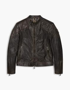 The Outlaw Jacket. Shop the Outlaw Jacket from Belstaff. The jacket worn by David Beckham in his film, Outlaw, this black leather biker is an icon of cool, moto style.