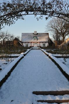 Sofiero vinter by Sofiero Slott och Slottsträdgård, via Flickr