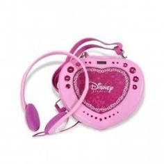 Disney P100CD Princess Portable CD Player by Disney. $55.49. This item is Brand NewThis heart-shaped Disney Princess portable CD player features 60 second anti-skip protection and supports CD and CD-R/RW. With a purse-style attached strap, this player requires 2 AA batteries (not included). * 60 second antr