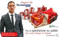 Newsletter n°2 - Auguri da Terracciano Group - Spedizioni regali su pallet