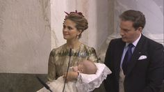Princess Madeleine, Prince Nicolas and Chris O'neill
