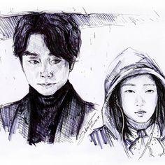 [KdramaArt] #dokkaebi #Демон #Goblin #GongYoo #KimGoEun #kdrama #koreandrama