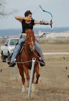 Photos - A Company Mounted Archery