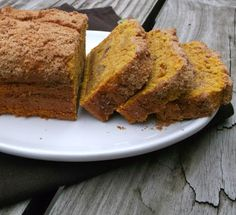 Words Of Deliciousness: Cream Cheese Pumpkin Bread