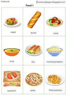 Esl - Food and Drink Healthy Prepared Meals, How To Stay Healthy, Healthy Recipes, Food Pyramid Kids, Food Flashcards, English Grammar Book, Food Vocabulary, English Lessons For Kids, Healthy Living Tips