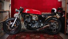 '84 Yamaha XJ600, 'Sriscia Nera' | Emporio Elaborazioni