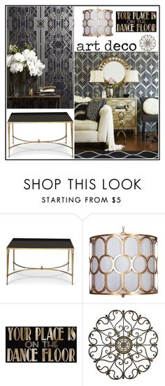 """""""Art Deco"""" by loveartrecyclekardstock on Polyvore Art Deco Bar, Art Deco Decor, Art Deco Home, Art Deco Design, Art Deco Bedroom, Modern Art Deco, Art Deco Furniture, Classic Interior, Home Decor Inspiration"""