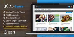 WordPress AdSense Theme from mythemeshop is the 2016 best wordpress Adsense theme to increase earning without increase in traffic. Free Seo Tools, Earn More Money, Creating A Blog, Premium Wordpress Themes, Cool Things To Make, Search Engine, Coding, This Or That Questions, Blogging