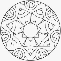 Mandalas Geometric Mandala, Mandala Design, Doodle Pages, Doodle Art, Mandala Coloring Pages, Colouring Pages, Group Art Projects, Hand Embroidery Videos, Mandala Drawing