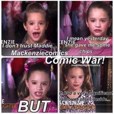 Why does everyone make fun of Kenzie for the one thing she said about chips!
