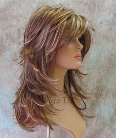 Image result for long straight hair with lots of layers