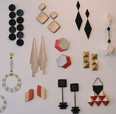 I want them all - #retro - jewelry by amalia