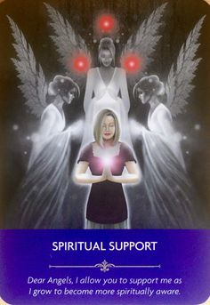 There is more spiritual support around you than you realise. Spiritual Awareness, Spiritual Guidance, Spiritual Life, Spiritual Awakening, Angel Guide, Doreen Virtue, Angel Cards, Oracle Cards, Spirit Guides