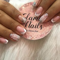 Pink Gel Nails, Love Nails, Luxury Nails, Beauty Spa, Manicure And Pedicure, Nail Artist, Diana, Nail Designs, Makita