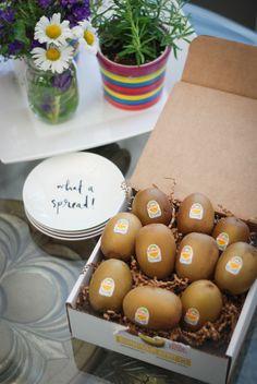 Sun Gold Zespri Kiwifruit on Nutmeg Disrupted