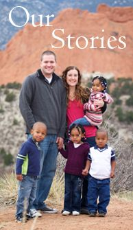 A great blog following the journey of a family who adopted 4 children from Ethiopia and are now missionaries in Cameroon, Africa