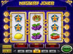 Mystery Joker er en videoautomat med 3 hjul og 5 faste linjer. Antallet linjer kan ikke endres. #MysteryJoker #fruktmaskin Mystery, Joker, Free Slots, Slot Machine, Arcade Games, Arcade Game Machines, Games, The Joker, Jokers