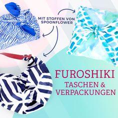 Furoshiki - Stylische Taschen & Verpackungen Blog, Sewing, Diy, Bags, Sachets, Fabrics, Packaging, Sewing Patterns, Projects