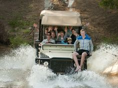 Family safari at Morokuru Family Lodge at Madikwe Game Reserve