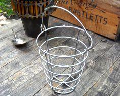 Basket, Chrome Basket, TV Remote Caddy, Conical, Clutter Buster, Metal Basket, Industrial, Basket, Modern, Masculine, Steampunk, Casa Karma by CasaKarmaDecor, $25.00 USD